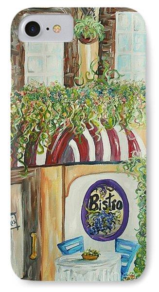 Gianni's Bistro Phone Case by Eloise Schneider
