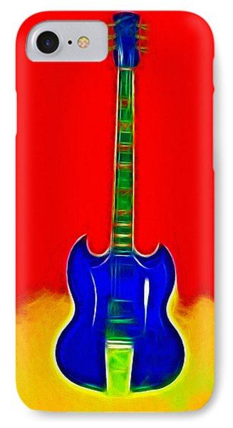 Gibson Guitare IPhone Case by Steve K