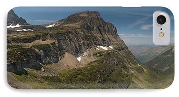 Glacier National Park Panorama IPhone Case by Sebastian Musial
