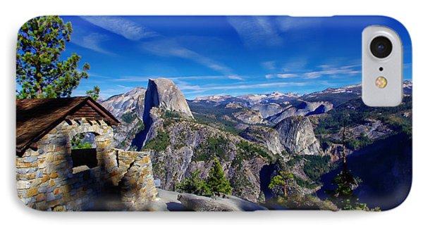 Glacier Point Yosemite National Park IPhone 7 Case by Scott McGuire