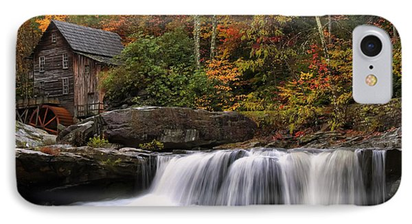 Glade Creek Grist Mill - Photo IPhone Case by Chris Flees