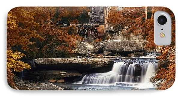 Glade Creek Mill In Autumn IPhone Case by Tom Mc Nemar