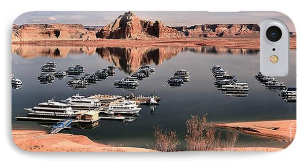 Glen Canyon Panorama IPhone Case by Adam Jewell