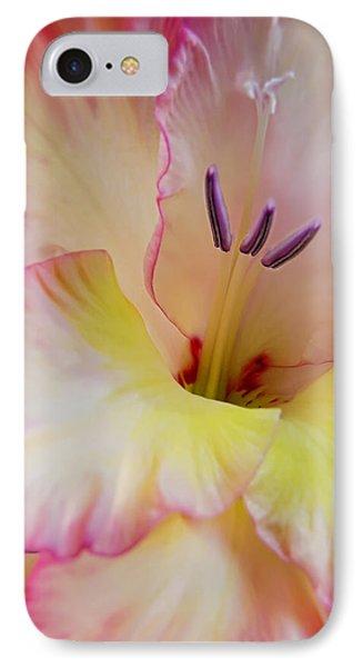 Glorious Gladiola Flower Phone Case by Jennie Marie Schell