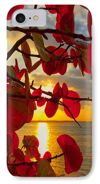 Glowing Red Phone Case by Stephen Anderson