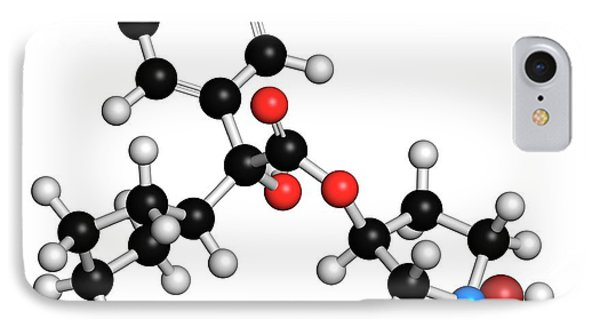Glycopyrronium Bromide Copd Drug Molecule IPhone Case by Molekuul
