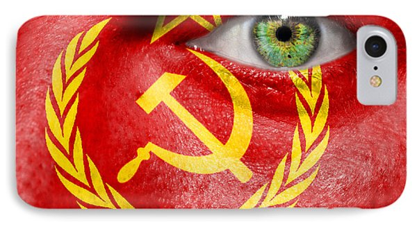 Go Ussr IPhone Case by Semmick Photo