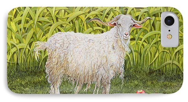 Goat IPhone 7 Case by Ditz