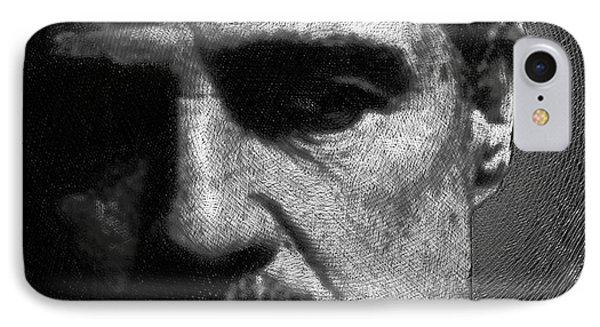 Godfather Marlon Brando IPhone Case by Tony Rubino