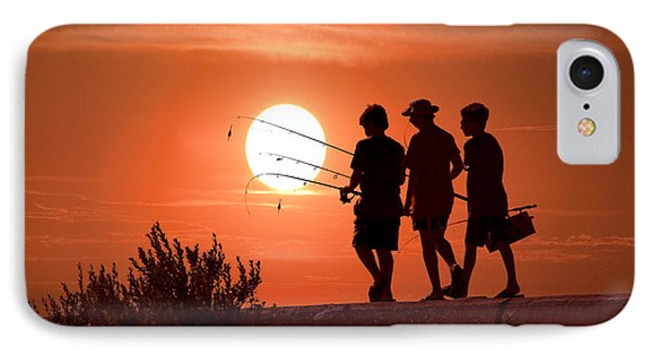 Going Fishing IPhone Case by Randall Nyhof