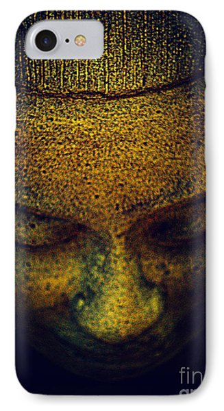 Golden Buddha Phone Case by Susanne Van Hulst