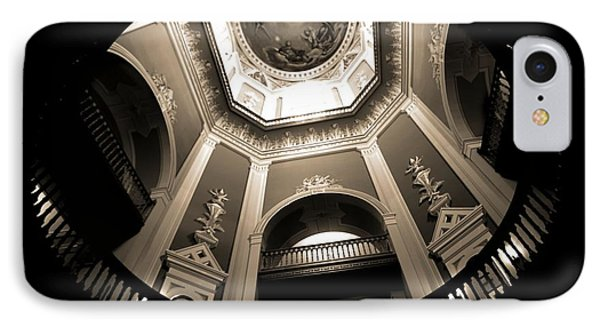 Golden Dome Ceiling IPhone Case by Dan Sproul