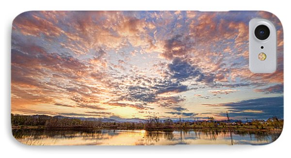 Golden Ponds Scenic Sunset Reflections 4 Phone Case by James BO  Insogna