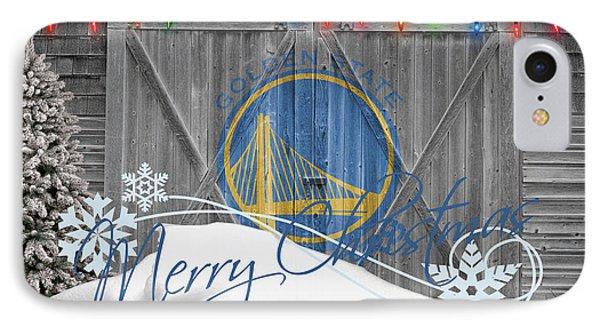 Golden State Warriors IPhone Case by Joe Hamilton