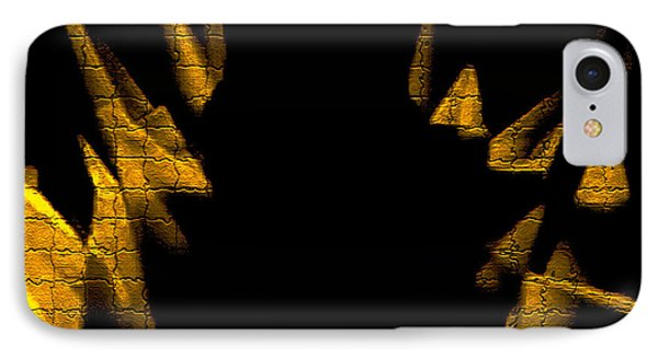 Golden Statues - Brighter Phone Case by David Winson