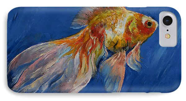 Goldfish IPhone 7 Case by Michael Creese