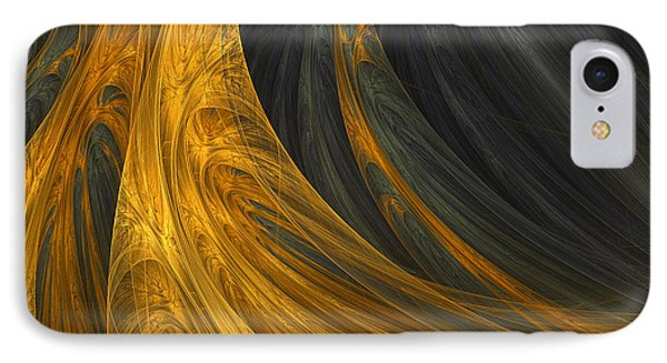 Gold's Grace IPhone Case by Lourry Legarde