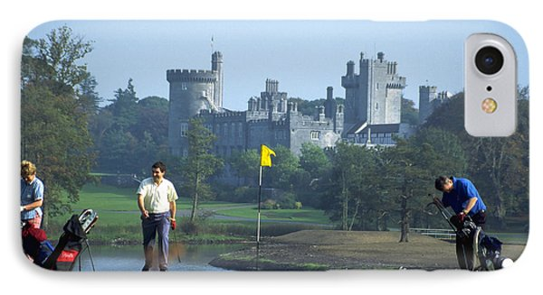 Golf At Dromoland Castle IPhone Case by Carl Purcell