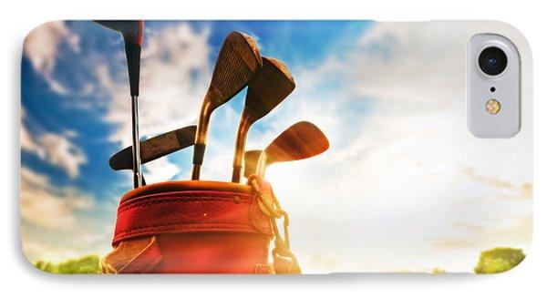 Golf Equipment  Phone Case by Michal Bednarek