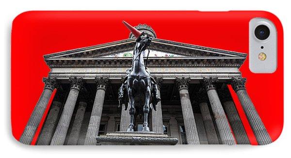 Goma Pop Art Red Phone Case by John Farnan