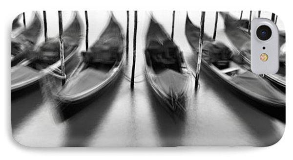 Gondolas - Venice IPhone Case by Rod McLean
