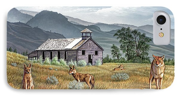 Gone To The Dogs IPhone Case by Paul Krapf