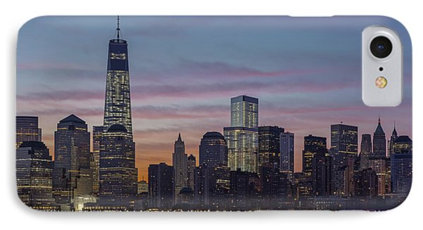 Good Morning New York City IPhone Case by Susan Candelario