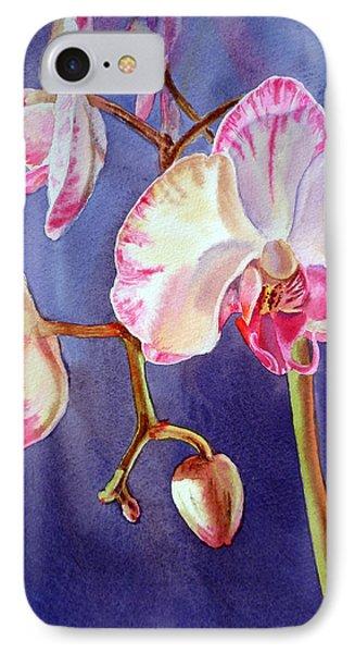 Gorgeous Orchid IPhone Case by Irina Sztukowski