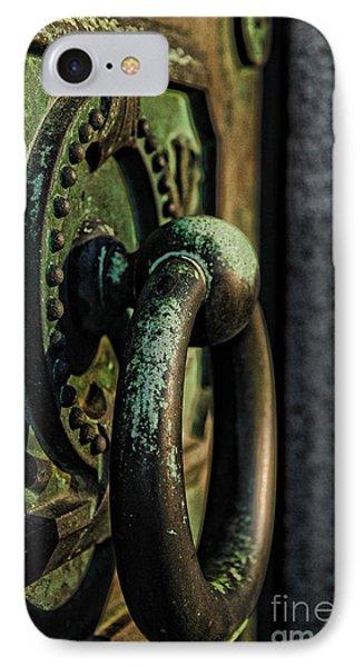 Goth - Crypt Door Knocker Phone Case by Paul Ward