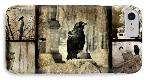 Gothic And Crows IPhone Case by Gothicolors Donna