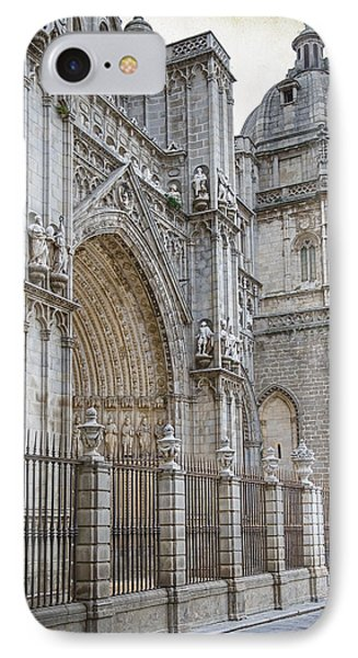 Gothic Splendor Of Spain Phone Case by Joan Carroll
