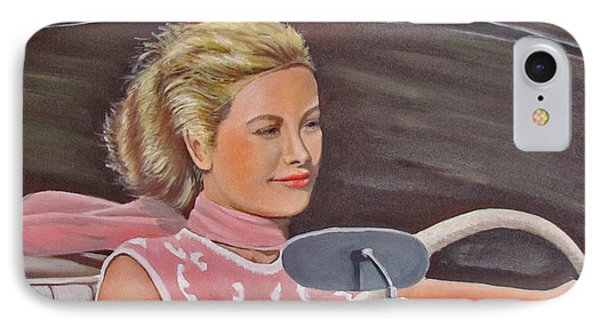 Grace Kelly - To Catch A Thief IPhone Case by Kevin Hughes