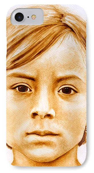 Gracie IPhone Case by Julee Nicklaus