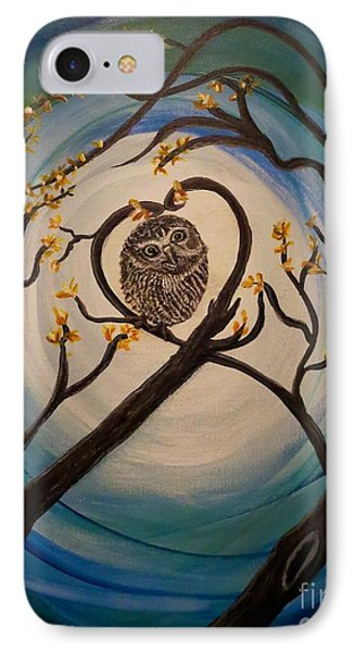 Graciela Finds Her Heartsong IPhone Case by Kimberlee Baxter