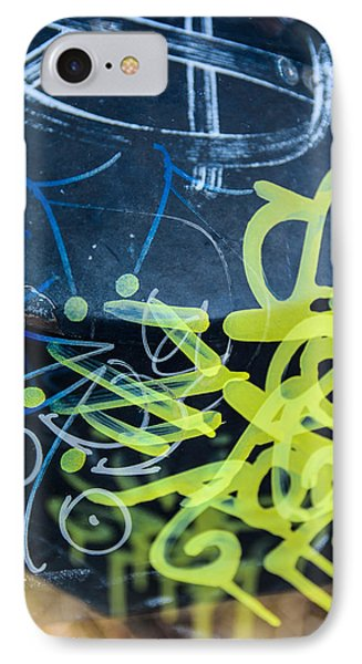 Grafiti IPhone Case by Toppart Sweden