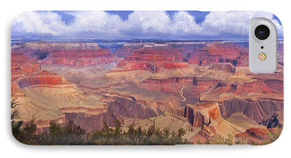 Grand Canyon View IPhone Case by Dale Jackson