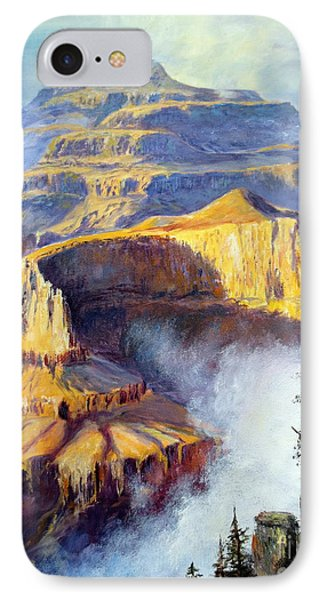 Grand Canyon View Phone Case by Lee Piper