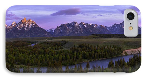 Grand Tetons IPhone Case by Chad Dutson