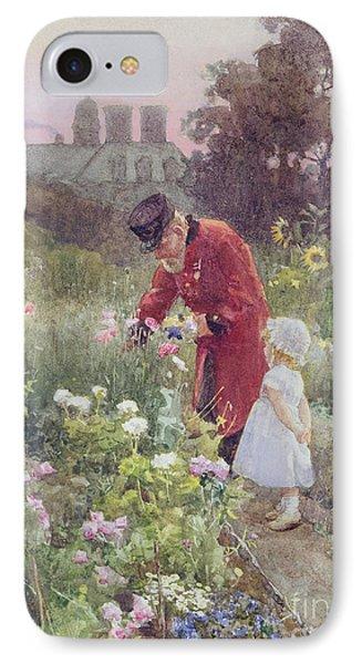 Grandads Garden IPhone Case by Rose Maynard Barton