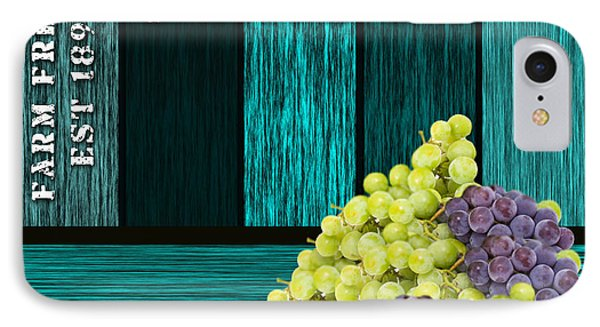 Grape Sign IPhone Case by Marvin Blaine