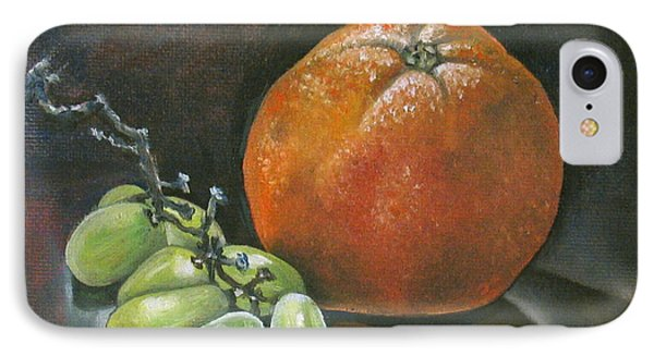 Grapes And Grapefruit Phone Case by Petrovich