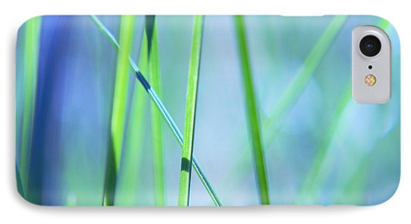 Grass Abstract - 0102a IPhone Case by Variance Collections