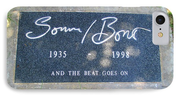 Grave Of Sonny Bono IPhone Case by Randall Weidner