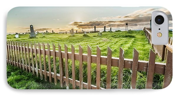 Graveyard On Flatey Island IPhone Case by Panoramic Images