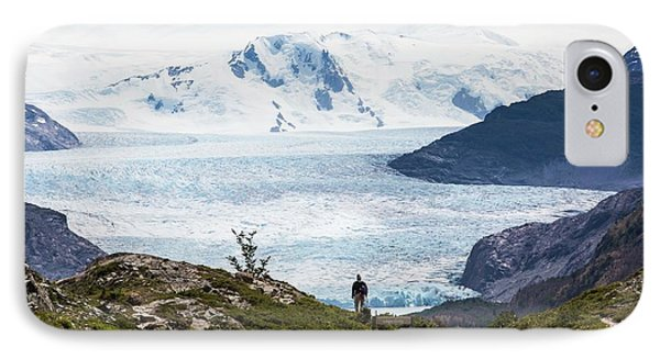 Gray Glacier IPhone Case by Peter J. Raymond