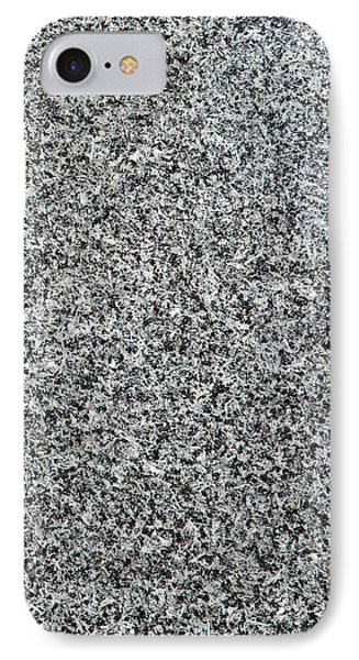 Gray Granite IPhone Case by Alexander Senin