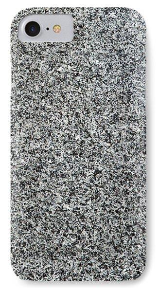 Gray Granite IPhone 7 Case by Alexander Senin