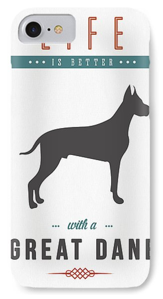Great Dane 01 IPhone Case by Aged Pixel