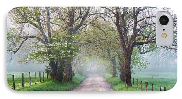 Great Smoky Mountains National Park Cades Cove Country Road Phone Case by Dave Allen