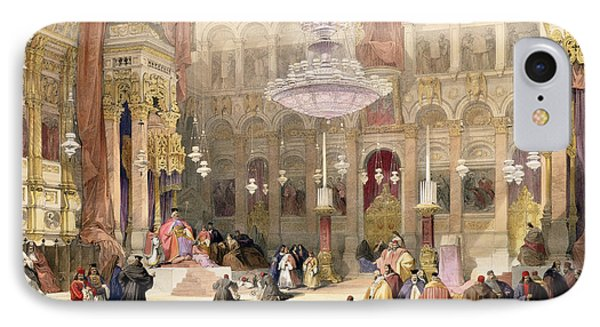 Greek Church Of The Holy Sepulchre Phone Case by David Roberts